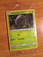 SEALED Pokemon BULBASAUR Card BLACK STAR PROMO Set SM198 Holo Detective Pikachu