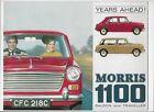 1966 Morris 1100 Saloon & Traveller brochure