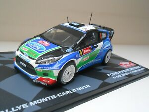 COCHE FORD FIESTA RS WRC MONTECARLO 2012 CAR 1/43 1:43 SOLBERG PATTERSON