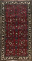 Antique Floral Authentic Anatolian Turkish Area Rug Hand-knotted Wool Carpet 5x8