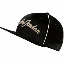 Nike Jordan Remarster Script Pro Cap Snapback Casual Hat Black Unisex Ct0002-010