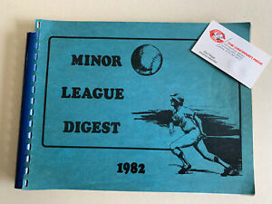 1982 Minor League Digest by Baseball Bluebook owned by SL Cardinal Mgr Vern Rapp