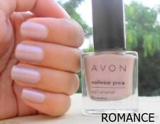 Avon Nailwear Pro+ Plus Nail Enamel Varnish Polish ' ROMANCE ' shade NEW BOX