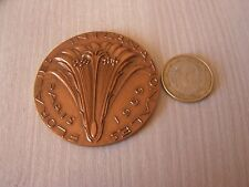 medaille  bronze    1959   attribuee     floralies internationales
