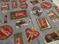 COCA-COLA STANDARD SIZE PILLOW SHAMS NEW NO PACKAGE
