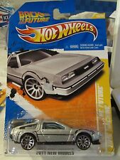 Hot Wheels Back to the future Time Machine 2011 New Models Silver