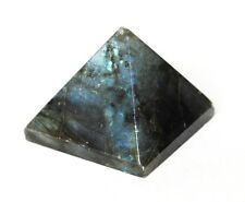 REIKI ENERGY CHARGED LABRADORITE PYRAMID CRYSTAL NATURAL CRYSTAL HEALING GIFT UK