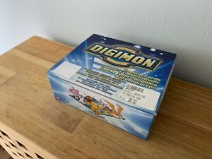 Digimon Cards Animated Series 1 Booster Box w/ 24 Sealed Packs New English