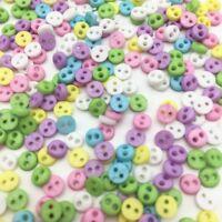lot 50 bouton rond 4 mm couture scrapbooking bricolage 2 trou mercerie création