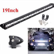 19Inch 54W Slim LED Work Light Bar Spot Car Offroad Driving 4X4 SUV Jeep Offroad