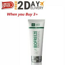 Biofreeze Professional Pain Relief 4oz GEL Tube Pack of 3