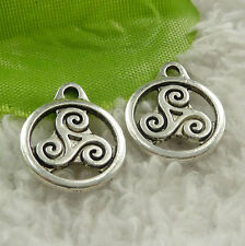 Free Ship 268 pieces tibet silver nice charms 19x15mm #4565