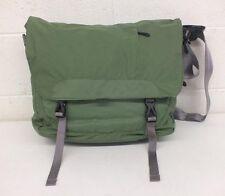 "GoLite Green High-Quality Messenger Bag w/Padded Laptop Slot 5.5x14x16"" LOOK"