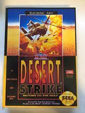 Desert Strike - Sega Genesis - Replacement Case - No Game