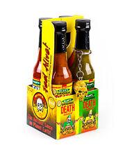 Blair's Mini 4 Pack DEATH SAUCE SAMPLER!! hot chilli summer grill BBQ Blairs WOW