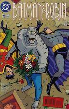 BATMAN & ROBIN ADVENTURES #23 NEAR MINT (1995 SERIES) KILLER CROC