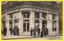 SUBLIME cpa RARE 75 - PARIS Commerce Bijouterie DIAMANT FRANÇAIS DIAMOND FRENCH