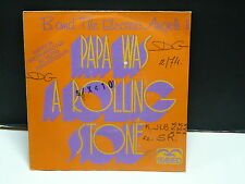 B. and THE ELECTRIC ANGELS Papa was a rolling stone ( instru moog synthé ) 63006