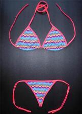 Sexy Retro G-STRING BIKINI Swimming Costume Swimsuit Ladies Sexy Thong Swimwear