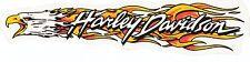 Harley Davidson Pegatina Sticker modelo Eagle Flame horario 24,0 x 5,5 cm