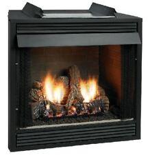 black traditional gas fireplace fireplaces for sale ebay rh ebay com