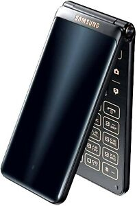 Android Flip phone- Samsung Galaxy Folder 2 SM-G1650 Dual SIM 16gb - Black