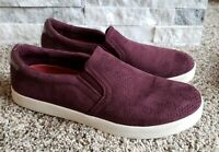 Dr. Scholls Madison Be Free Slip On Casual Sneakers Shoes Women 9 Merlot Comfort