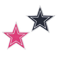 """2 pcs Dallas Cowboys Football Badge Size 5.8""""x5.8"""" Sew Iron on Embroidered Patch"""