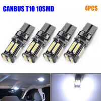 Super Bright Cool White T10 LED Car Canbus Error Free Interior Tail Lights Lamps