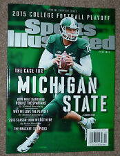 2015 MICHIGAN STATE SPORTS ILLUSTRATED ERROR SI MIKE MARK DANTONIO MSU SPARTAN !