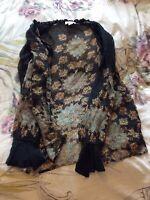 Monsoon Silk Dress UK 14