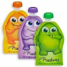 Little Mashies Reusable Squeeze Pouch x 10