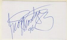 George Montgomery Signed Autographed Card from the Melchior Collection