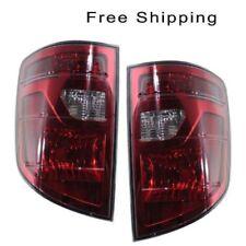 Tail Lamp Lens and Housing Set of 2 LH & RH Side Fits Honda Ridgeline 2009-2011
