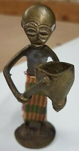 Hand crafted African figurine