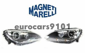 Magneti Marelli Set of Left & Right Xenon Headlights 63117272017 63117272018
