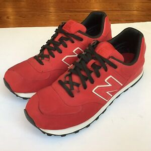 New Balance Mens High Roller 574 Running Shoes ML574SPR Pack Red Size 13 D