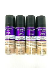CoverGirl+Olay Simply Ageless 3-in-1 w. Vitamin C Liquid Foundation (LOT of 4)