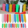 100x Garden Plant Pot Markers Plastic Stake Tags Yard Court Nursery Seed Label P