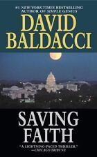 Saving Faith by David Baldacci (2000, Paperback, Reprint)