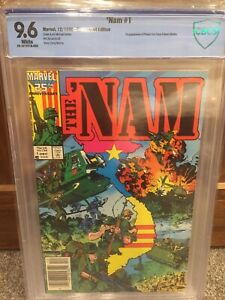 Marvel Comics The 'Nam #1 (Dec 1986) CBCS 9.6 (CGC) White Pages Newsstand Rare