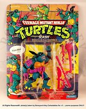 1990 ORIGINAL TMNT SLASH (Purple Belt w/Red S)*MOC*NEW