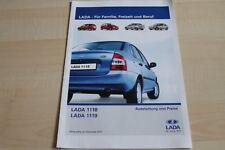 118907) Lada 1118 1119 - Preise & Extras - Prospekt 09/2007