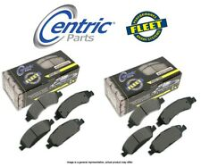 [FRONT + REAR SET] Centric Parts Fleet Performance Disc Brake Pads CT99567