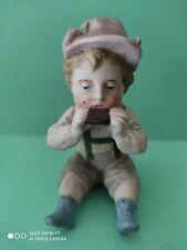 Statuette Vintage Porcelaine BISCUIT Enfant