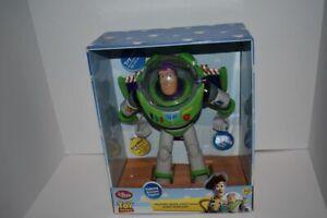 Disney Store Pixar Toy Story Buzz Lightyear Talking Figure Works!
