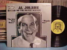 SOUNDTRACK LP AL JOLSON ON THE SILVER SCREEN GO INTO YOUR DANCE / WONDER BAR