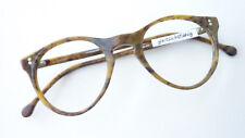 Panto Brille Erdfarben Form klein Intellektuellen Stil Meitzner Zocca Grösse S