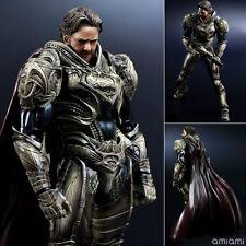 2013 DC SQUARE ENIX PLAY ARTS KAI SUPERMAN: MAN OF STEEL NO. 3 JOR-EL FIGURE SET