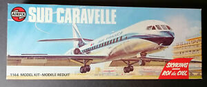 AIRFIX - SUD CARAVELLE SKYKING - AIR FRANCE - # 03177-8 - AIRCRAFT - 1/144 SCALE